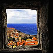 Key Hole View Of Dubrovnik Art Print