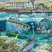 Key Largo Grand Slam Art Print by Carey Chen