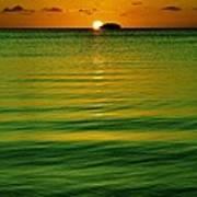Key Largo Sundown Art Print