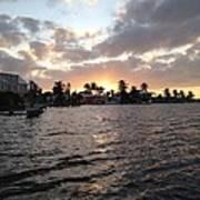 Key Largo Sunset Art Print