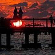 Key West Florida Sunrise Art Print
