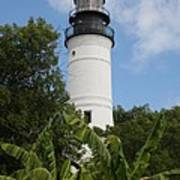 Key West Lighthouse  Art Print