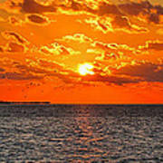 Key West Sunset 11 Art Print