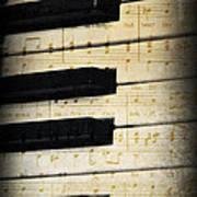 Keyboard Music Art Print