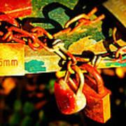 Keys Of Love And Life Art Print