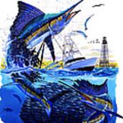 Keys Sail Art Print