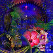 Solar Paradise Art Print