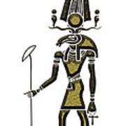 Khensu - God Of Ancient Egypt Art Print