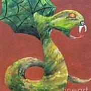 Khiel...the Snake Art Print