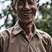 Khmer Peasant Art Print