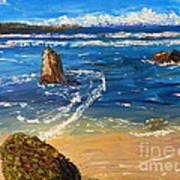 Kiama Beach Art Print