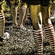 Kickball Socks Art Print