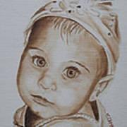 Kids In Hats - Isabella Art Print