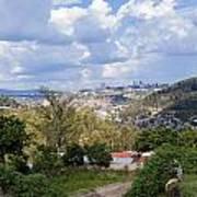 Kigali Landscape Art Print