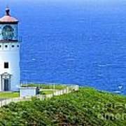 Kilauea Lighthouse Art Print