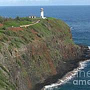 Kilauea Lighthouse Print by Deborah Smolinske