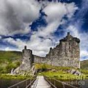 Kilchurn Castle Scotland Art Print