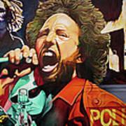 Zack De La Rocha-killing In The Name  Art Print