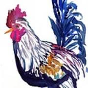 Kilohana Rooster Art Print