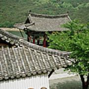 Kimchi Pots, Tiles And Lanterns Art Print