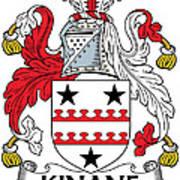 Kinane Coat Of Arms Irish Art Print