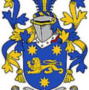 Kindelan Coat Of Arms Irish Art Print