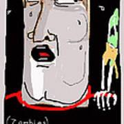Kinemortophobia Art Print