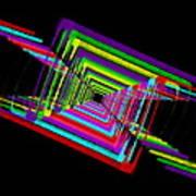 Kinetic Rainbow 17 Art Print