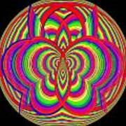 Kinetic Rainbow 28 Art Print