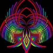 Kinetic Rainbow 30 Art Print