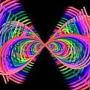 Kinetic Rainbow 38 Art Print