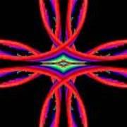 Kinetic Rainbow 41 Art Print