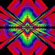 Kinetic Rainbow 44 Art Print