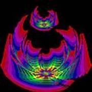 Kinetic Rainbow 45 Art Print