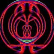 Kinetic Rainbow 46 Art Print
