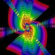 Kinetic Rainbow 47 Art Print