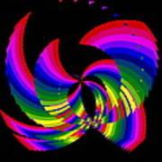 Kinetic Rainbow 51 Art Print