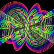 Kinetic Rainbow 55 Art Print