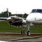 King Air 200 Art Print