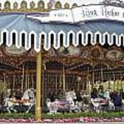 King Arthur Carrousel Fantasyland Disneyland Art Print