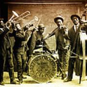 King Carter Jazzing Orchestra Art Print