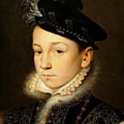 King Charles Ix Of France Art Print