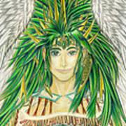 King Crai'riain Portrait Art Print