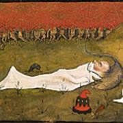 King Hobgoblin Sleeping Art Print