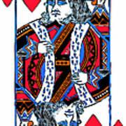King Of Hearts 20140301 Art Print