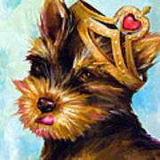 King Of Hearts 3 Art Print