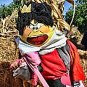 King Of Hearts Scarecrow By Diana Sainz Art Print