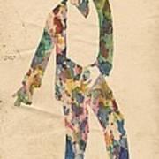 King Of Pop In Concert No 14 Art Print