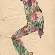 King Of Pop In Concert No 8 Art Print