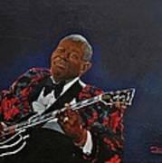 King Of The Blues Art Print